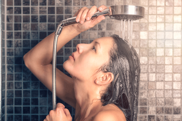 Less Frequent Shampoos